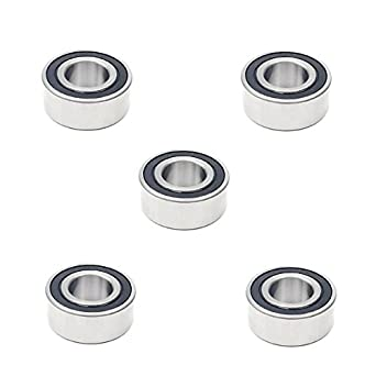 5x 5205 2RS Double Row Sealed Angular Contact Ball Bearings 25x52x20.6 mm