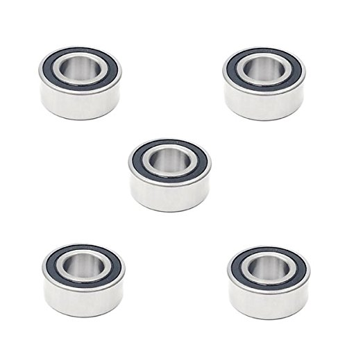 5x 5205 2RS Double Row Sealed Angular Contact Ball Bearings - 25x52x20.6 mm Volar Motorsport Inc