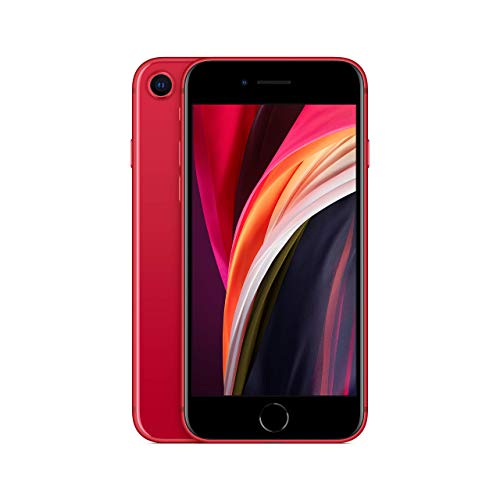 Apple iPhone SE, 64GB, Red - for T-Mobile (Renewed)