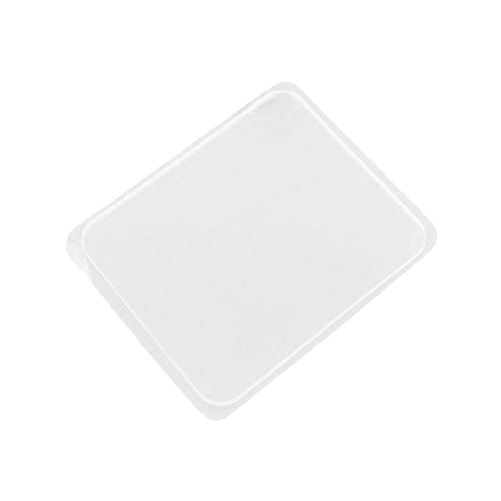 Chercherr Anti-Slip Pad, Super Sticky Transparent Silicone Gel Pad Anti Slip Multifunction Non-Slip Wall Sticker Free Adhesive Kitchen Car Holder Easy Gripping Pad Auto Gel Holders for Phone (3PC)