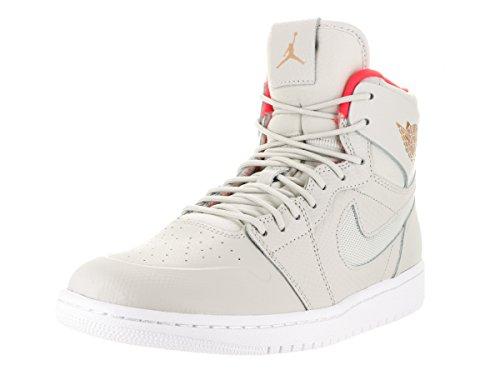 Nike Air Jordan 1 Retro High Nouv, Scarpe da Basket Uomo Avorio (Hueso (Lght Bn / Mtlc Cpprcn-white-infr))