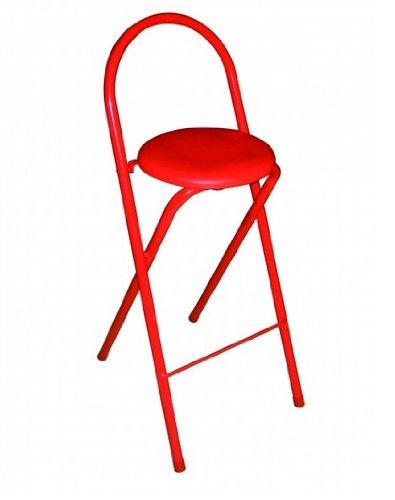 Sgabello Glory dimensioni 30 x 30 x 70 cm colore: rosso 30 x 30 x 70 cm nero Sdpe