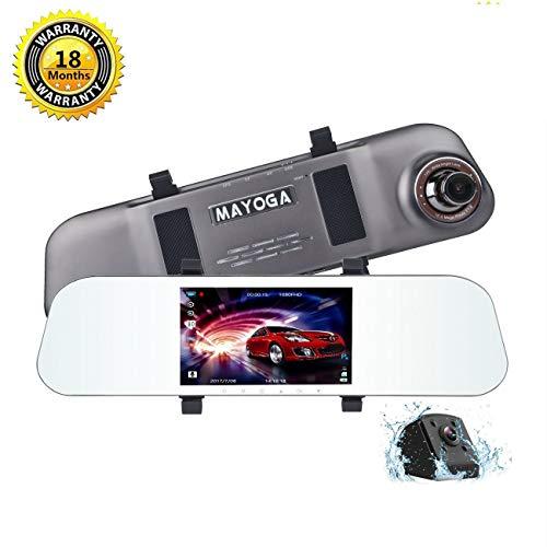 Camera Reviews Cheap Digital Cameras - Mirror Dash Cam Backup Camera, MAYOGA 5