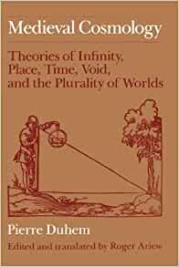 Amazon Com Medieval Cosmology Theories Of Infinity border=