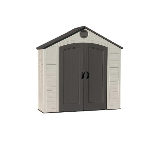 Lifetime 6413 Outdoor Storage Shed, 8 by 2.5 Feet