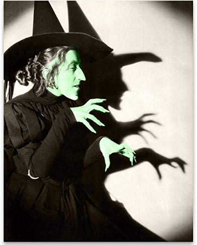 Wizard of Oz - Wicked Witch of the West - 11x14 Unframed Patent Print - Great Gift Under $15 for Fans of The Wizard of Oz -
