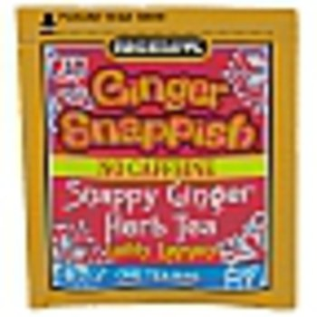 Bigelow Ginger Snappish Herbal Tea with Lemon - Case of 160