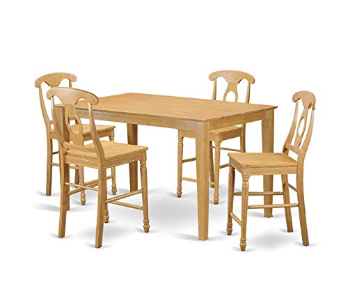 Deluxe Premium Collection 7 Pc Pub Table Set-Pub Table and 6 Kitchen Dining Chairs. Decor Comfy Living Furniture