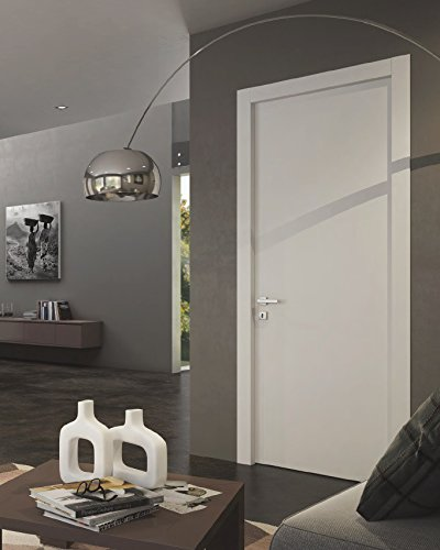 Planum 0010 Interior Door White Silk. Just a slab, Use As Barn Or Pocket Door (30