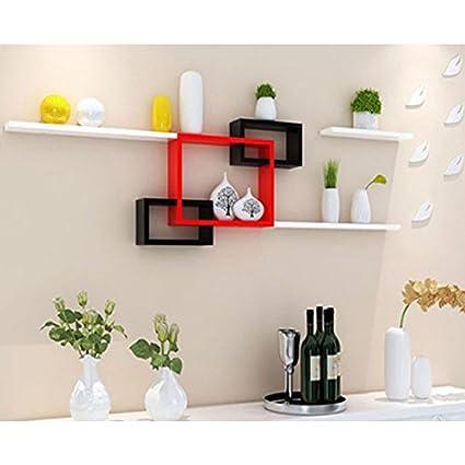 ZI LING SHOP- Wall Shelf Living Room Parete Divano Background Parete ...