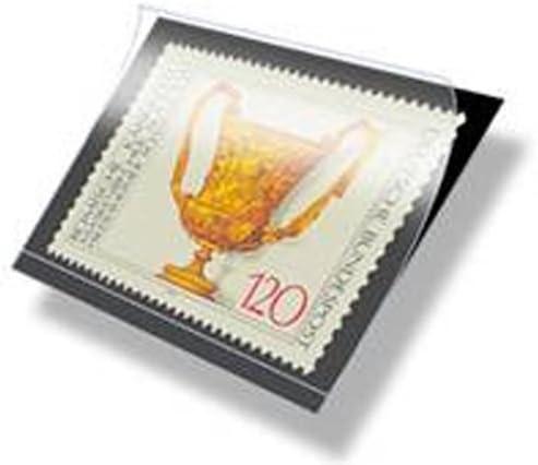 Lindner HA6007 hawid Zuschnitte 24 x 21 mm-schwarz 24 x 21 mm