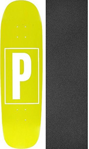 20a9a949e14 Amazon.com   Preservation Skateboards Brand Identification Yellow ...