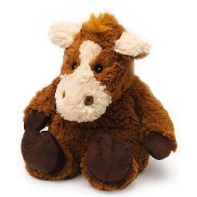 Horse - WARMIES Cozy Plush Heatable Lavender Scented Stuffed Animal: Home & Kitchen