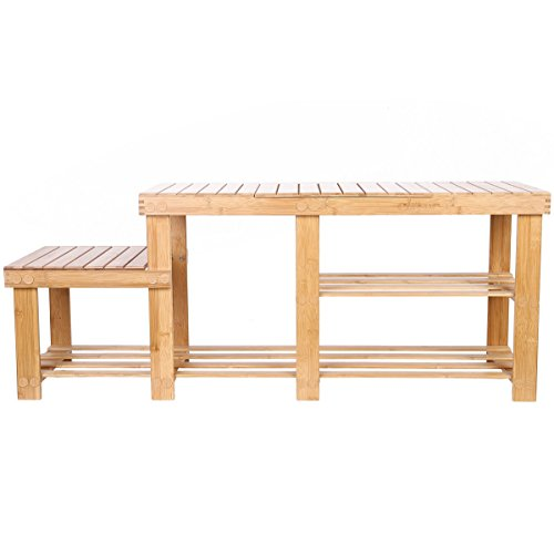 Clevr Natural Bamboo Storage 2 Tier product image