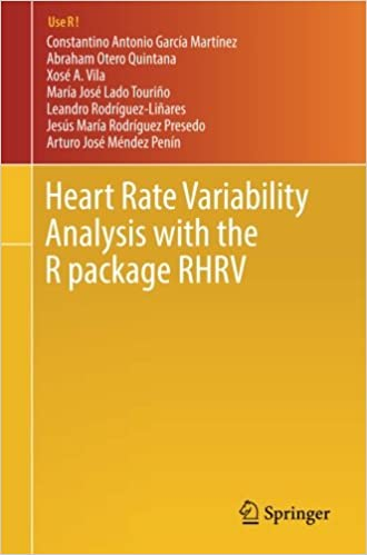 Heart Rate Variability Analysis with the R package RHRV (Use