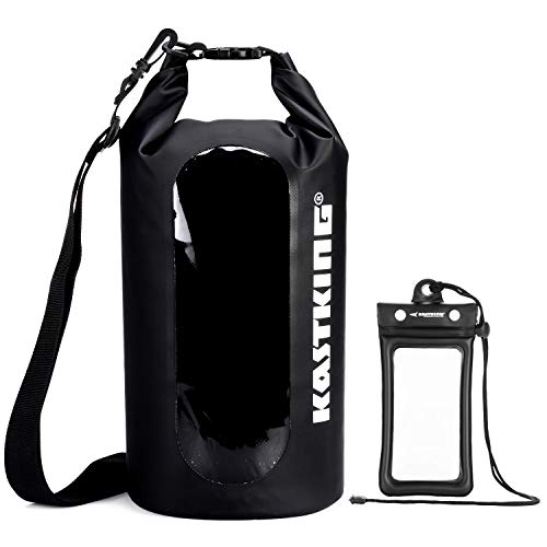 KastKing Floating Waterproof Dry Bag, Black Dry Bag Combo, 30L (Best All Purpose Kayak)