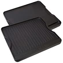 Camp Chef CGG16B Reversible Pre-Seasoned Cast Iron Grill/Griddle (Cast Iron)