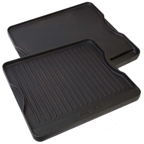 Home Camping Griddle - Camp Chef CGG16B Reversible Pre-Seasoned Cast Iron Grill/Griddle