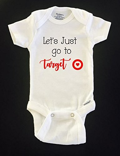 bf876d566 Amazon.com: Let's just go to target baby onesie: Handmade