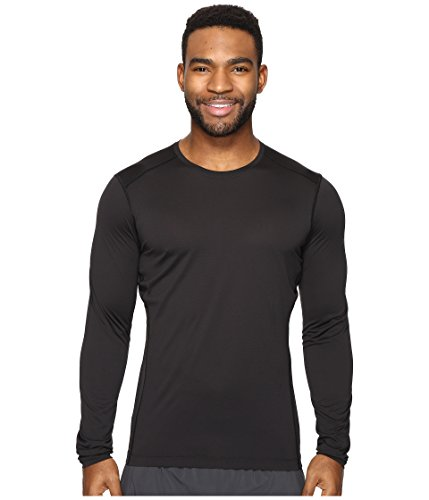 Arc'teryx Men's Phase SL Crew Long Sleeve Black Shirt