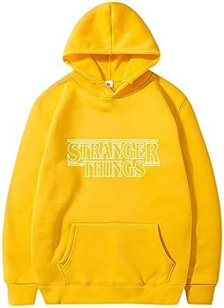 Stranger 3D Print Things Hoodie Tops Unisex Long Sleeve Pullover Sweatshirt Costumes