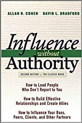 Influence Without Authority 2nd (second) edition Text Only Hardcover