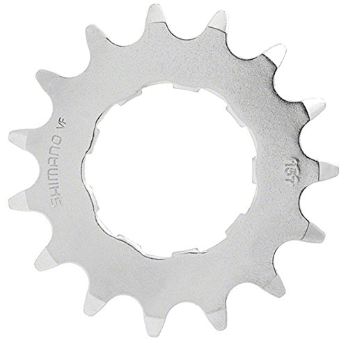 SHIMANO CS-MX66 DX Bicycle Cassette Cog (15T, Silver)