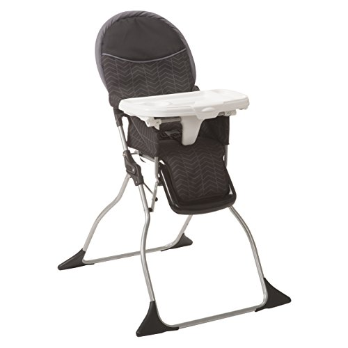 Cosco Simple Fold Deluxe High Chair, Black -