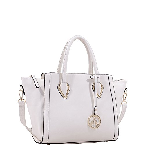 MKF Collection Cadence Handbag (Beige)