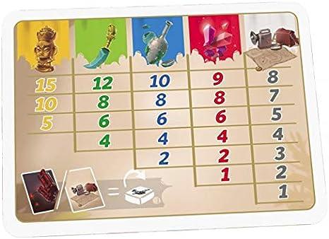 Ferti Games YUT001- Yutakâ - Juego de Mesa: Amazon.es: Juguetes y juegos
