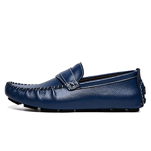 Slip Canoa Loafer Casual da Penny on Cricket Mocassini Blu Grant Scarpe Uomo Scarpe AUq5II