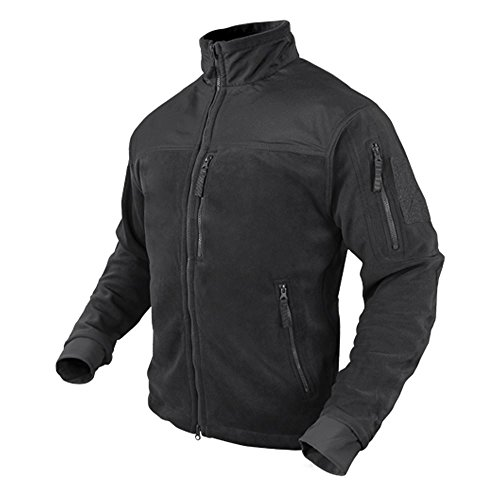 Condor Micro Fleece Jacket (Black, Medium)