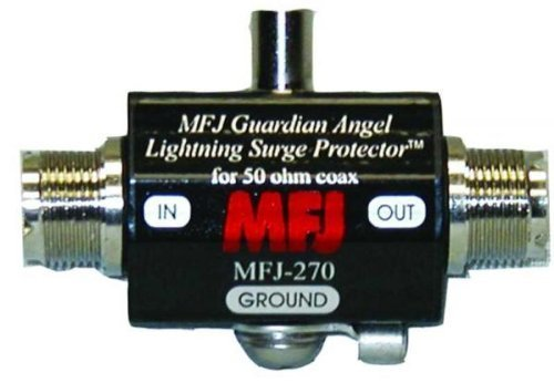 MFJ-270 Lightning arrester DC-1GHz, UHF-F/F 400W by MFJ