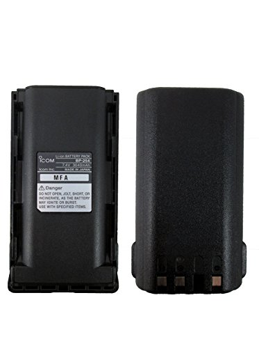 Icom BP-254 battery F70S F70T F70DS 70DT F80S F80T F80DS F80DT F9011 F9021 by Icom