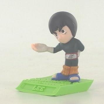 Figura Rock Lee Gashapon Colección Konoha Ninja Naruto ...