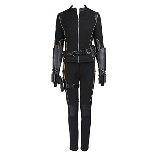 CosplayDiy Women's Suit for Agents of Shield Costume Skye Quake Cosplay XS