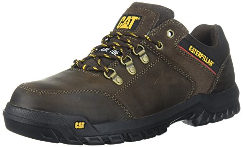 Caterpillar Men's Extension Steel Toe Industrial Shoe, Brown, 10 M US