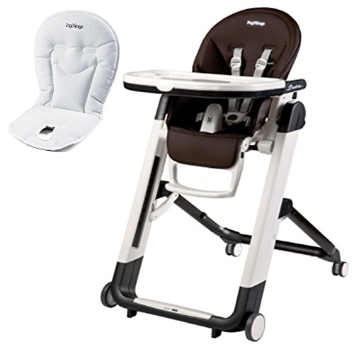 Peg Perego Siesta High Chair With Booster Cushion (Cacao)