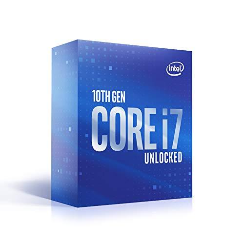 Intel Core i7-10700K (Basistakt: 3,80GHz; Sockel: LGA1200; 125 Watt) Box