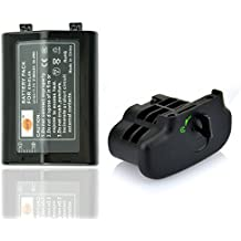 DSTE Replacement EN-EL4 EN-EL4A Battery + BL-3 Battery Chamber Cover For Nikon D300 D300S D700 D900 Camera MB-D10 MB-D40 Grip