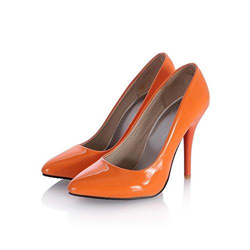 Balamasa Flickor Stilett Urringade Överdelar Mule Lack Pumpar-shoes Jacint