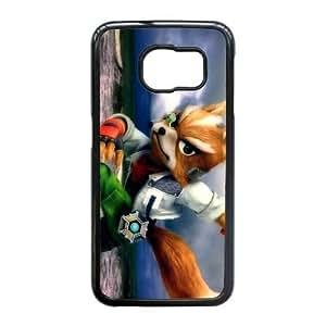 Samsung Galaxy S6 Edge case, Super Smash Bros Fox Cell phone case for Samsung Galaxy S6 Edge -PPAW8718792