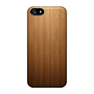 (auE3871URYz)durable Protection Case Cover For Iphone 5/5s(wood)