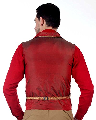 ThePirateDressing - Gilet - Homme Rouge Rouge