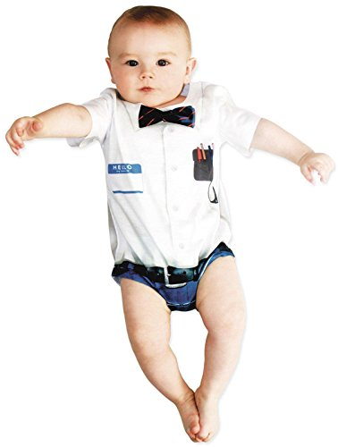 Infant: Nerd Costume Romper Infant Onesie Size 6 (Nerd Costume Ideas)