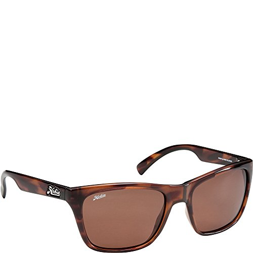 Hobie Woody-94PCP Polarized Rectangular Sunglasses,Shiny Tortoise,58 - Amazon Sunglasses Hobie