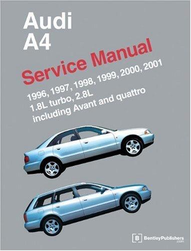 2002 audi a4 service manual - 6