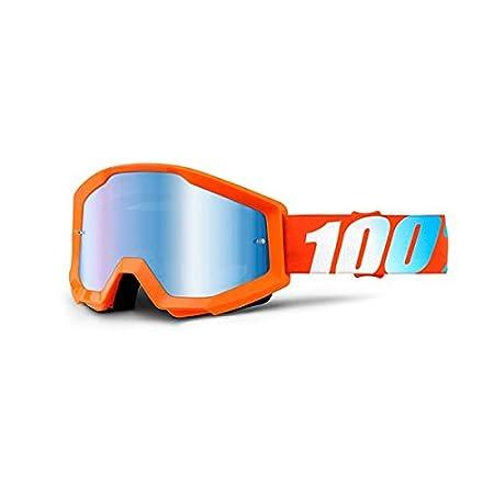 100% 50410-006-02 STRATA Brille 100 Percent 100% 50410-006-02 STRATA Brille Orange - Spiegel Blau Linse