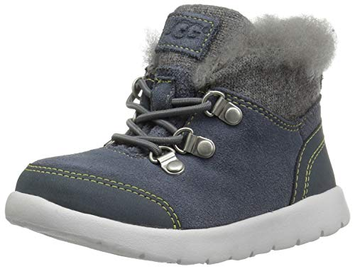 UGG Kid's Obie WP Shoe, Norse Green, 12 M US -
