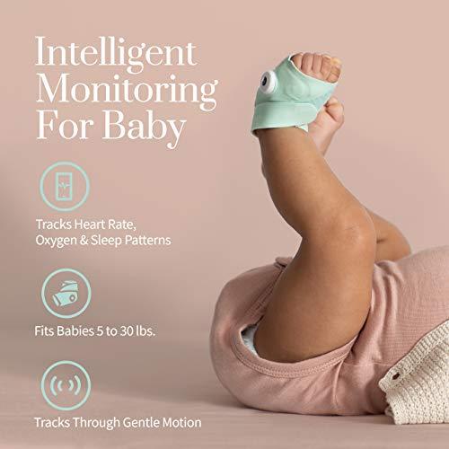 מוניטור לתינוק עם וידאו HD מודד חמצן וקצב לב – Owlet